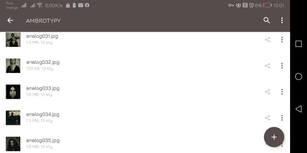 Archiwizator TAR - Nextcloud w aplikacji mobilnej